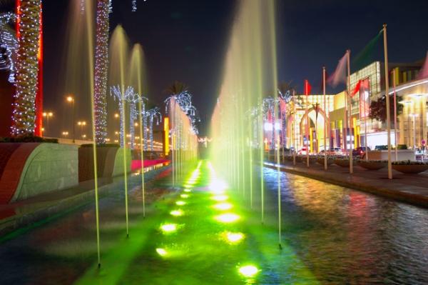 胶南欢乐海湾喷泉